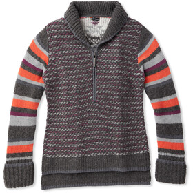 Smartwool CHUP Potlach Trøje m. 1/2 lynlås Damer, medium gray heather